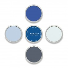 5 Couleur PanPastel Set Blues