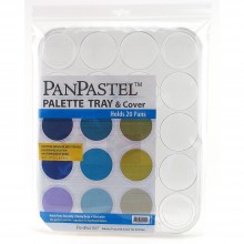 PanPastel :PanPastel: Palette/Tray with lid : holds 20 colours