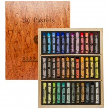 Sennelier : Soft Pastel : Wooden Box Set of 36