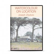 APV : DVD : Watercolour on Location : Joseph Zbukvic