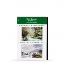 APV : DVD : Twin Pack : Watercolour Fast et Big brush Watercolour : Ron Ranson