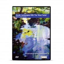 Townhouse : DVD : Acrylique : Paysages avec The Wow Factor avec Lynda Appleby