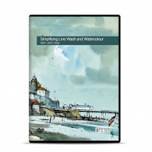 Townhouse : DVD : Simplifying Line Wash et Watercolour : John Hoar