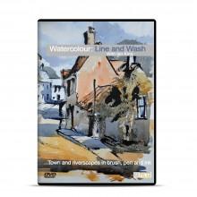Townhouse : DVD : Watercolour Line et Wash : Ian King Ely