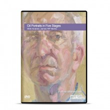 Townhouse : DVD : Oil Portraits in Five Stages : avec etrew James RP NEAC