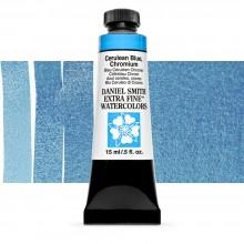 Daniel Smith aquarelle 15ml: bleu azurée, chrome S2