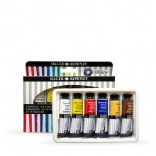 Daler Rowney : Aquafine : Gouache : 15ml : Lot de  7
