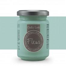 Fleur : Designer's Paint : Apparence Crayeuse : 130ml: F49 Cape Town Blue