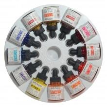 Dr. Ph. Martin's : Hydrus Liquid : Peinture Aquarelle: 30mlx12 : Lot 2 (13H : 24H):