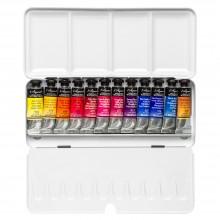 Billy Showell : Sennelier : Peinture Aquarelle: 10ml : Peinture : Boite Lot de  12 Paint Box Set of 12