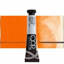 Golden : Qor : Peinture Aquarelle: 11ml : Cadmium Orange