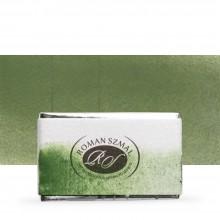 Roman Szmal : Aquarius : Watercolour Paint : Full Pan : Chromium Green Oxide