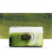 Roman Szmal : Aquarius : Watercolour Paint : Full Pan : Hookers Green