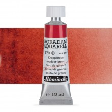 Schmincke : Horadam : Peinture Aquarelle: 15ml : Madder Brown