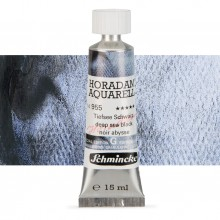 Schmincke : Horadam Watercolour Paint : 15ml : Deep Sea Black
