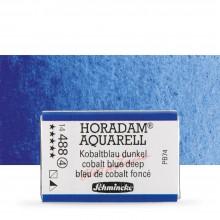 Schmincke : Horadam : Peinture Aquarelle: Godet : Cobalt Blue Deep
