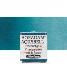 Schmincke : Horadam : Peinture Aquarelle: Demi- godet: Prussian Green
