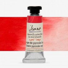 Isaro : Watercolour Paint : 7ml : Pyrrole Isaro Red