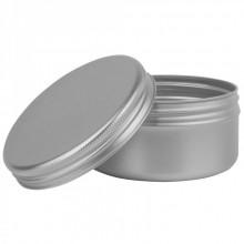 JAS :Pot en Aluminium Vide avec Couvercle : 15ml
