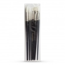 Rosemary & Co : Oil and Acrylic Brush : Set of 7