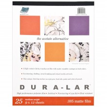 Grafix : Dura-Lar : 0.005 in Thick 25 Pages : Gummed Pads