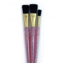 Royal & Langnickel : 3Pc Bristle Hair Flat Brush Set
