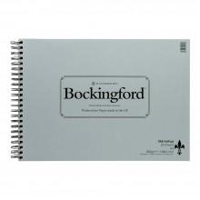 Bockingford papier aquarelle Spiral Fat Pad A3 NOT - 25 feuilles