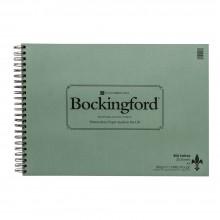 Bockingford papier aquarelle Spiral Fat Pad A3 rugueux - 25 feuilles