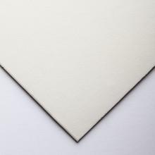 Crescent : Tableau Oeuvre d'Art  : Aquarelle : Tissu Blanc Cassé : Grain Satiné : A Très Fort Grammage : 15x20in (115.3)