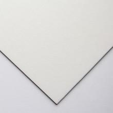 Crescent : Tableau Oeuvre d'Art  : Aquarelle : Tissu Blanc Cassé : Grain Fin : A Fort Grammage : 15x20in (5114.3)
