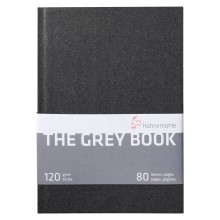 Hahnemuhle : The Grey Book : Cahier de Croquis : 120gsm : 40 Feuilles : A5