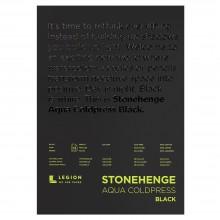 Stonehenge : Aqua Black Watercolour Paper Pad : 140lb (300gsm) : 5x7in : Not