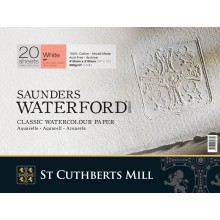 Saunders Waterford : Watercolour Paper Blocks : 300gsm