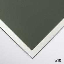 Art Spectrum : Colourfix Original :Papier Pastel : 50x70cm : Leaf Vert Dark : Lot de 10