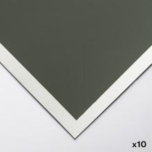 Art Spectrum : ColourFix : Surface Lisse : Papier Pastel : 50x70cm : Leaf Vert Dark : Lot de 10
