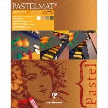 Clairefontaine :Label Orange: Pastelmat : Bloc : 24x30cm : 12 Feuilles 360gsm