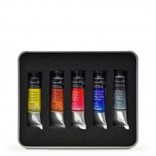 Sennelier : Aquarelle : Lot de 5x10 ml : Testeur